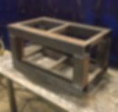 steel, mig welder, blueprint