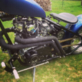 xs 650 hartail chopper add ons exhaust tubing mandel bend