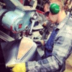metal work iron worker sheet metal
