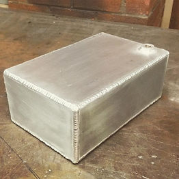 custom aluminum alloy ac/dc welding tank box
