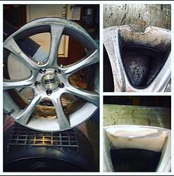 car rim wheel repair alloy wlding cutting sawing buring