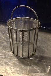 custom steel basket tig welding bending searing brake