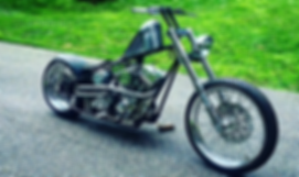 hand made hand built chopper motorcycle