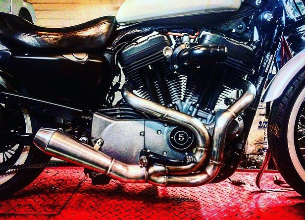 Fully Custom Motorcycle Exhausts