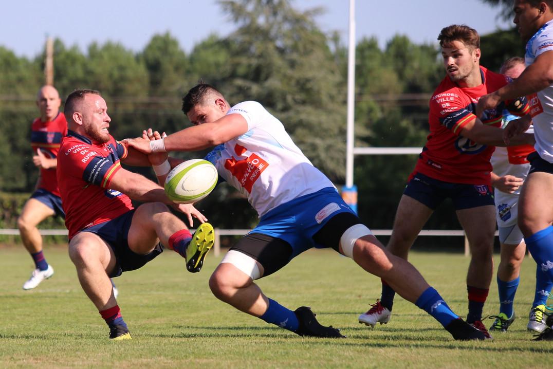 Lourdes FC Lourdais XV - reportage sportif - Photographe
