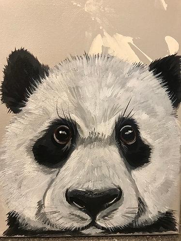 Original Art Panda