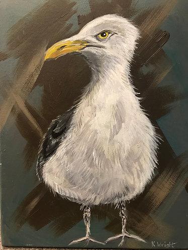 Seagull Original Art