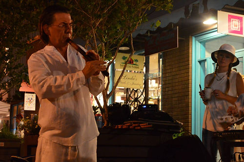 Bob Chadwick White Linen Night Houston