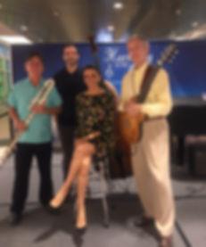 Maricela with Bob Chadwick Trio Harmony in the Air
