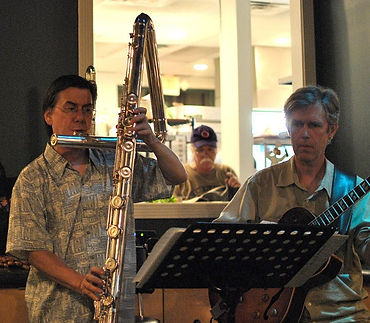 Contrabass flute Eva Kingma