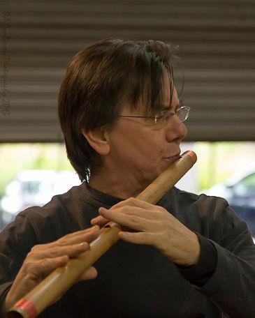 Bansuri flute Bob Chadwick