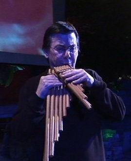 Bob Chadwick pan flutes