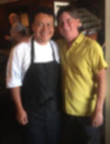 Hugo Ortega and Bob Chadwick