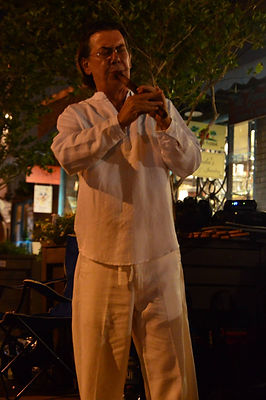 Bob Chadwick Quena Houston White Linen Night
