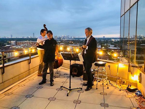 Bob Chadwick trio Houston Jazz flute
