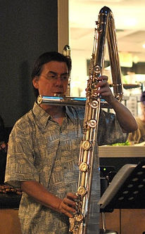 Contrabass Flute  Eva Kingma Bob Chadwick low flutes houston world flutes