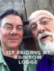 Bob Chadwick and Harry Sheppard at Rainbow Lodge Houston
