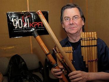 Bob Chadwick KPFT world flutes exotic flutes