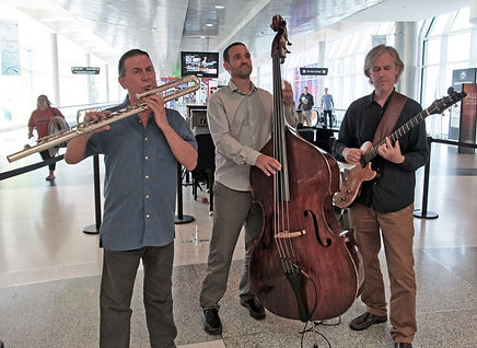 Bob Chadwick trio at Hobby airport
