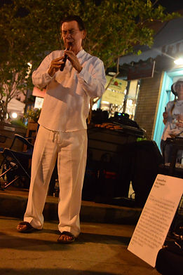 Bob Chadwick Quena Houston White Linen Night world flutes exotic flutes