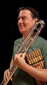 Bob Chadwick bass flute pan flute world flutist