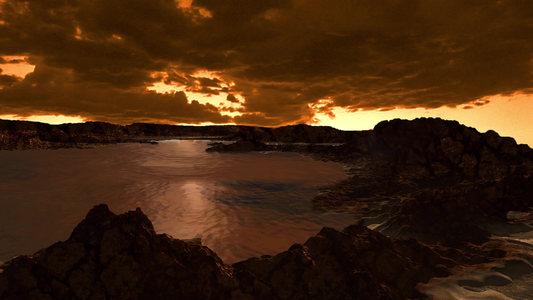 A Titan Methan Lake Ligeia