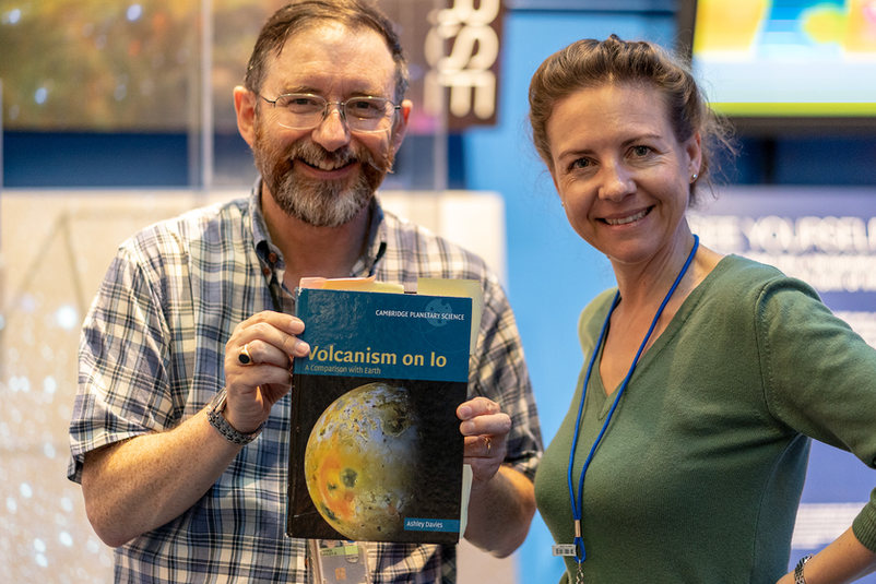 Dr Ashley Davies - NASA/JPL
