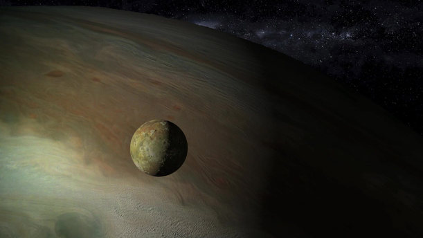 Moon Io in an Elliptical Orbit