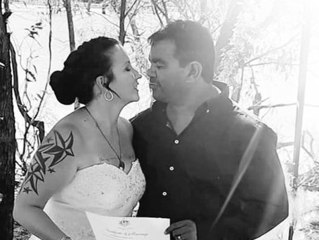 a love note: following a touching family ceremony
