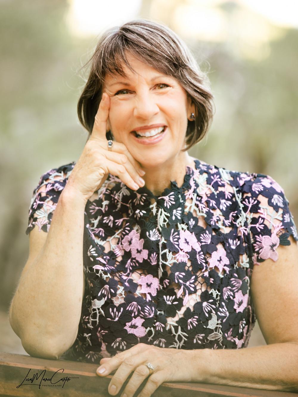 Fraser Coast celebrant, Lauretta Wright lives in Hervey Bay