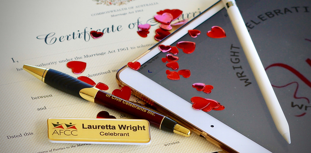 Lauretta Wright, authorised Marriage Celebrant with AFCC living in Hervey Bay, Queensland