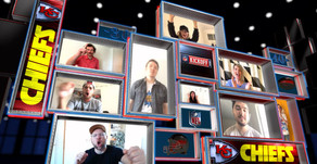 The NFL will use Microsoft Teams to let fans cheer along with players when they score a touchdown