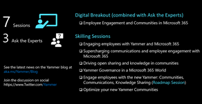 Official Guide to Yammer and Employee Engagement at Microsoft Ignite 2020