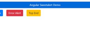 How To Use Sweetalert In Angular 10