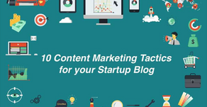 10 Content Marketing Tactics for your Startup Blog
