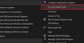 Using EF Core - Power Tools In ASP.NET Core API