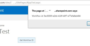 How to get workflow template id using javascript in SharePoint