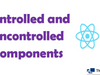 The Difference Between Controlled and Uncontrolled Components in React