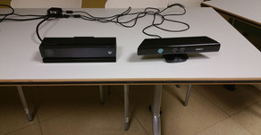 The difference between Kinect v2 and v1