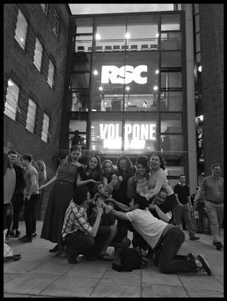 At the Royal Shakespeare Company