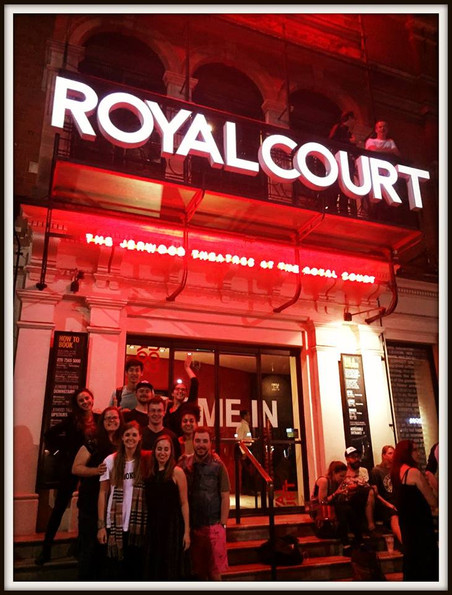 At the Royal Court Theatre