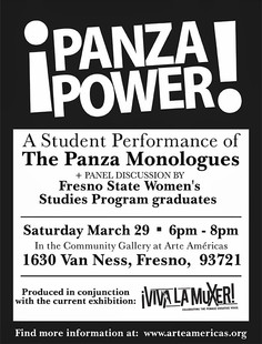 Poster for 'The Panza Monologues'