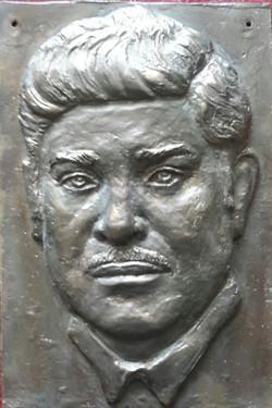 Портрет рельеф (бронза)