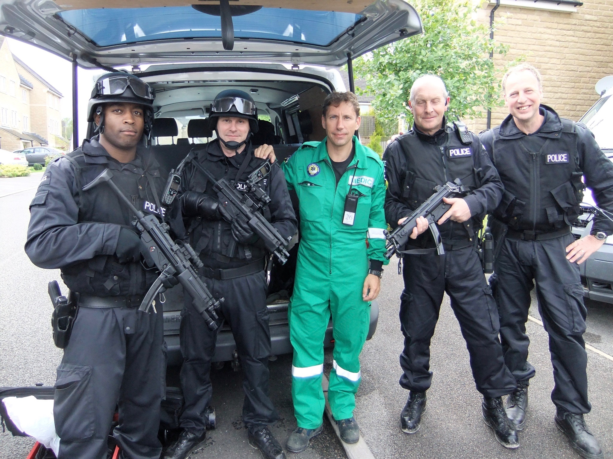 On Camera Medic & Police