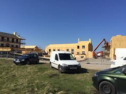 Film Set Construction in Howarth