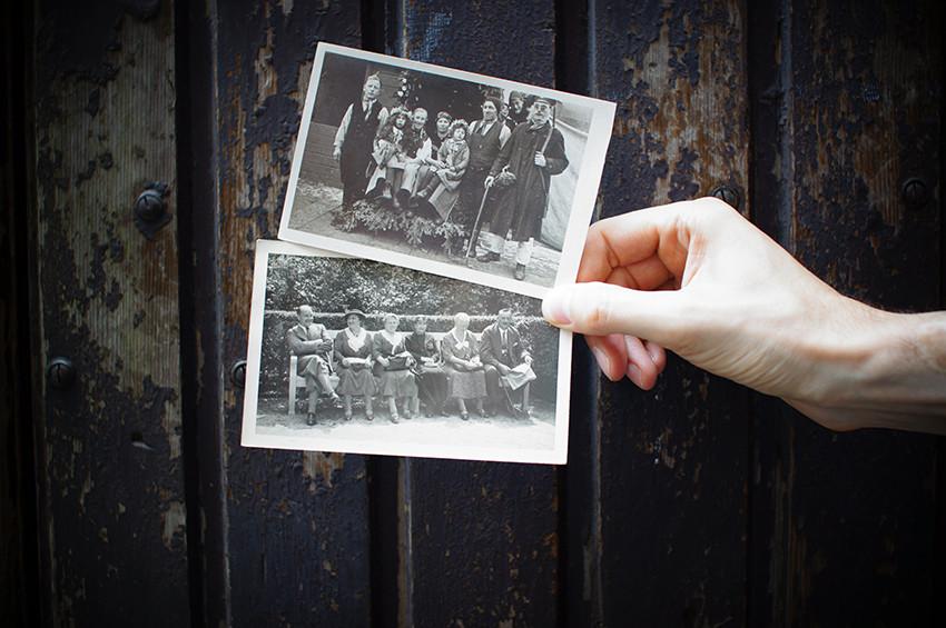 Albums de photos de famille anciennes à constituer pour partager les souvenirs