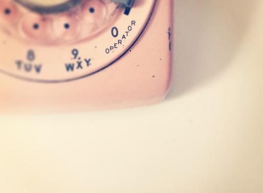 Les p'tites anecdotes de La plume : le téléphone à cadran