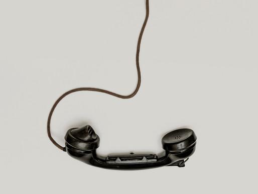 Les p'tites anecdotes de La plume : le combiné téléphonique