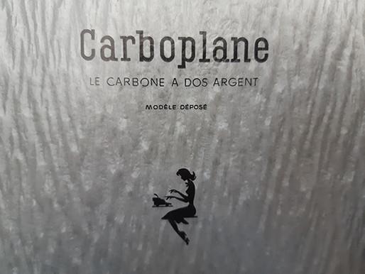 Les p'tites anecdotes de La plume : le papier carbone