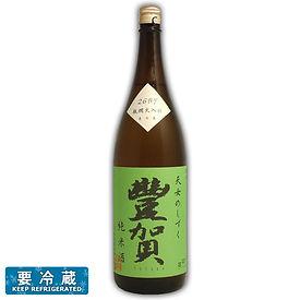 豊賀 純米酒 瓶燗火入れ 緑ラベル